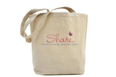Share Baby Tote Bag by CafePress