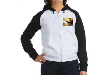 OBAMA CLIFF Conservative Women's Raglan Hoodie by CafePress
