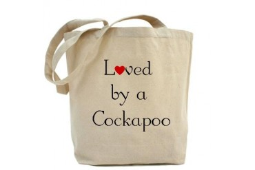 Loved by a Cockapoo Pets Tote Bag by CafePress