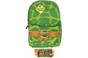TMNT Teenage Mutant Ninja Turtles Shell Print Hood Backpack