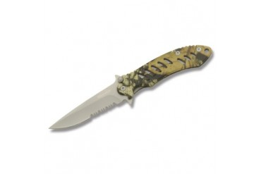 "Remington F.A.S.T. 5"" Mossy Oak Framelock - Clampacked"
