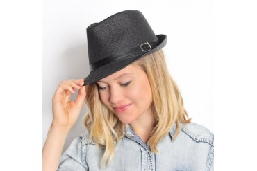 Trendy Belt Fedora Hat 4 Colors!
