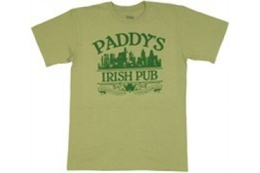 It's Always Sunny in Philadelphia Paddy's Irish Pub Slogan We Should Be Out Gettin Wasted T-Shirt