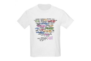 Words that DEFINE CHEERLEADING Kids Light T-Shirt