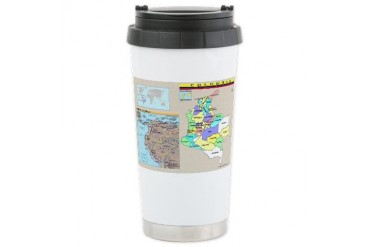 Travel Ceramic Travel Mug by CafePress