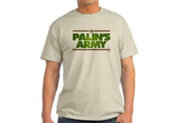Palin's Army - Light T-Shirt