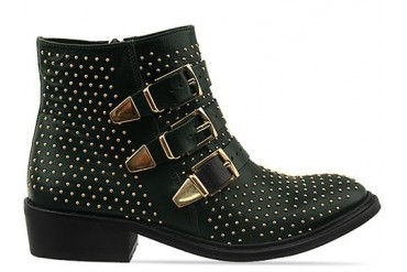 To Be Announced Who in Green Leather Gold size 6.0