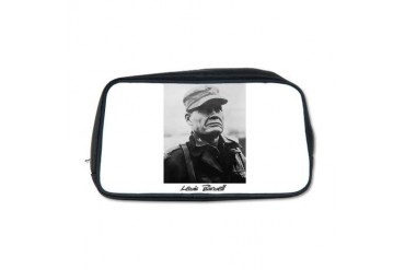 Chesty Puller w text Usmcfp Toiletry Bag by CafePress