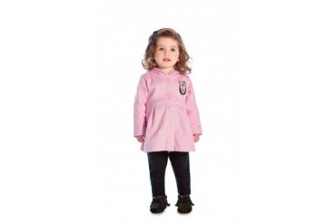 Baby Girl Pea Coat Infant Winter Jacket Warm Outerwear Sizes 3-12M