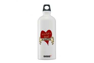 Scrapbooking Sigg Water Bottle 0.6L by CafePress