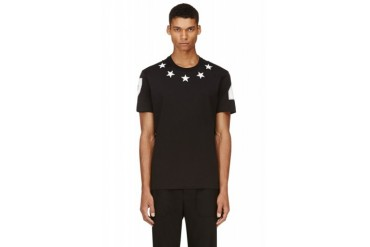 Givenchy Black Star Patch T shirt