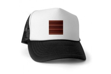 Red Stripes Vintage Trucker Hat by CafePress