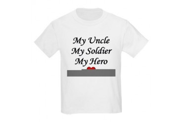 My Uncle Soldier Hero Kids T-Shirt