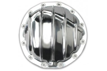 Trans-Dapt GM 8.875in. 12 Bolt Car Polished Aluminum Cover 4835 Differential Covers