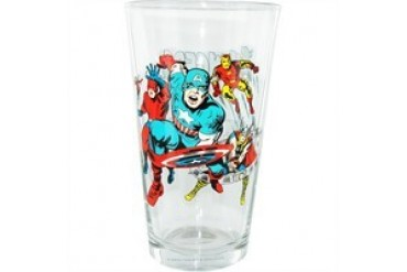 Marvel Comics Avengers #4 Comic Cover Toon Tumbler Pint Glass