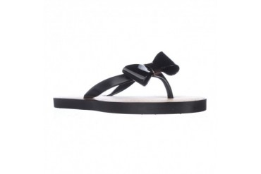 Report Jenski Bow Thong Flip Flops - Black