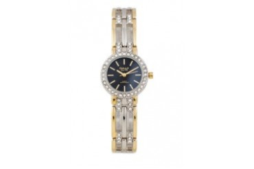 Omax JES620SG Alloy Silver & Gold Watch