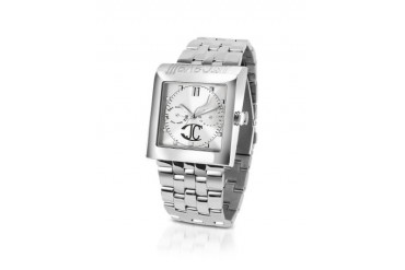 Ramp Up - Silver Dial Stainless Steel Date Watch