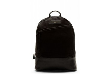 Want Les Essentiels De La Vie Black Canvas Kastrup Backpack