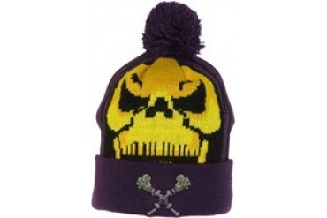 Masters of the Universe He-Man Skeletor Woven Head Cuff Embroidered Beanie  - Price Comparison d1ddce582b6b