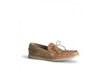 One By Land Leather Boat Shoe