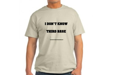 I Don't Know Ash Grey T-Shirt Funny Light T-Shirt by CafePress