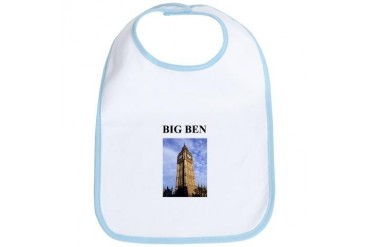 big ben london england gifts Cool Bib by CafePress