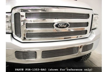Grillcraft BG Series Bumper Center Billet Grille Ford F250 Super Duty 05-07