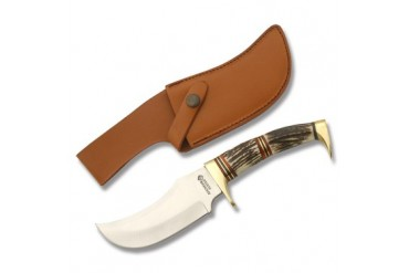American Hunter Fixed Blade with Stag Handle