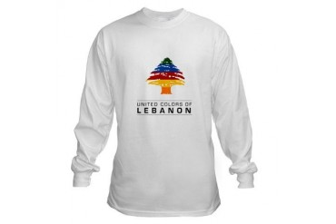 United colors of Lebanon Gay Long Sleeve T-Shirt by CafePress