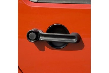 Rugged Ridge Door Handle Cover and Guard  13311.18 Door Handle Cover/Scuff Plate Set