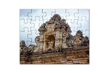 Guatemala Building4 Tree Puzzle by CafePress