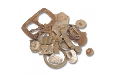 Civil War Bullet Grab Bag - (10) Assorted Battlefield Relics