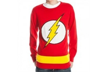 DC Comics Flash Logo Costume Sweater