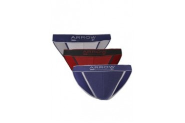 Arrow 3 Pcs Pack Tanga Briefs