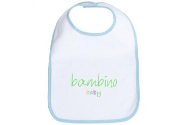 italian international baby Baby Bib by CafePress