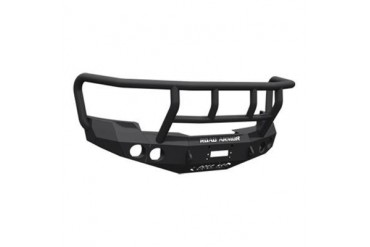 Road Armor Front Stealth Winch Bumper with Titan II Guard in Satin Black 37702B Front Bumpers