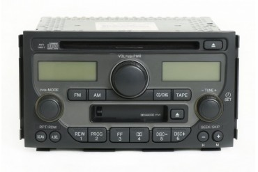 2003-05 Honda Pilot Radio AM FM CD Cassette Player 39100-S9V-A100 Face 1TV1