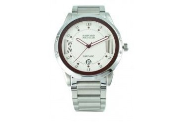 Harvard Polo Club Harvard Polo Club White watch 7500G-SS-1