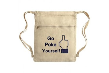 Sack Pack Funny Cinch Sack by CafePress