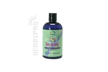 Baby Colloidal Oatmeal Body Wash Unscented 12 oz