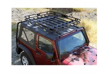 Kargo Master Congo Cage and Safari Rack Package for JK Wrangler 50430 Roof Rack