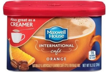 Maxwell House International Cafe Orange Cafe Beverage Mix