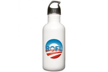 Nobama 2012 Obama Stainless Water Bottle 1.0L by CafePress