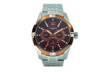 Carlo Cardini Carlo Cardini watch 4006G-SS-9 Brown