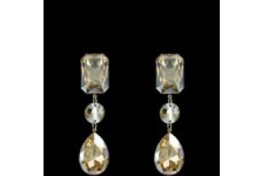 Jim Ball Earrings - Style CE754-Light-Gold