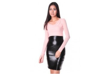mesh longsleeve top with inner