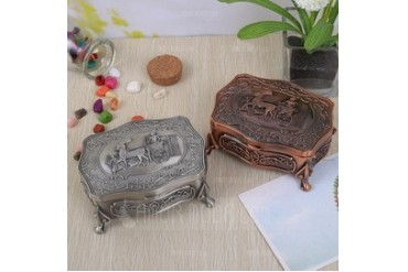 Lovely Alloy Ladies' Jewelry Box (011042619)