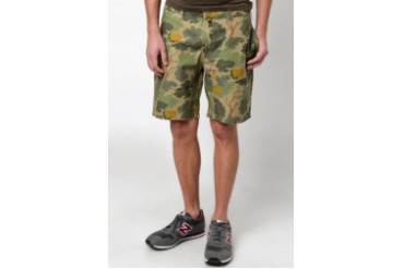 Native Youth CAMO PRINT SHORTS