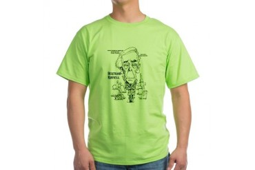 Green Russell T-Shirt Humor Green T-Shirt by CafePress